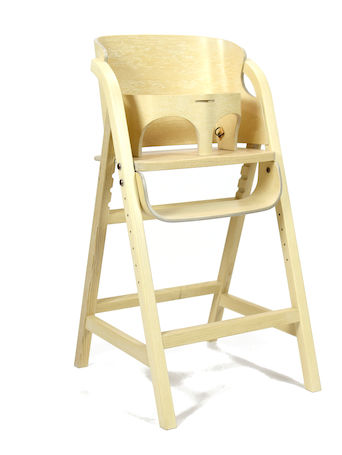 George's high chair