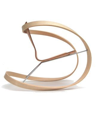 Katie Walker's Ribbon rocking chair