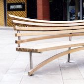 Public seating for Allied London Properties
