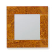 Geometric mirror range - Square silver section