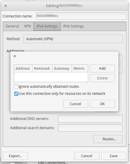 VPN Settings