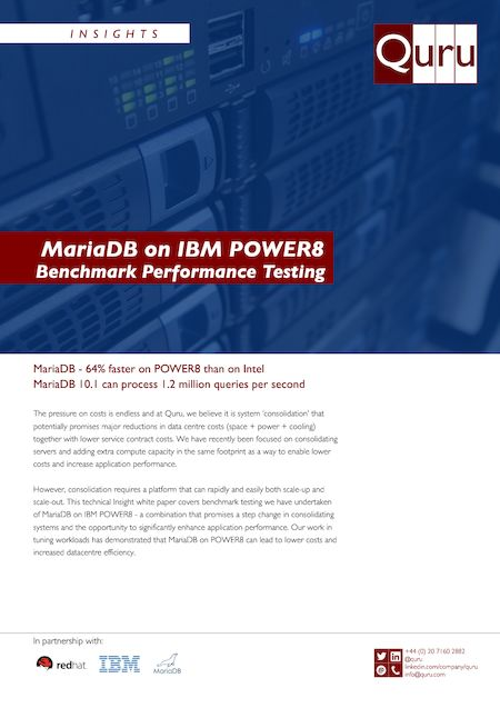 MariaDB on Power8