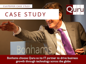 Bonhams choose Quru as IT services partner